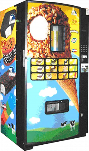 Regular Ice Cream Vending Machine
